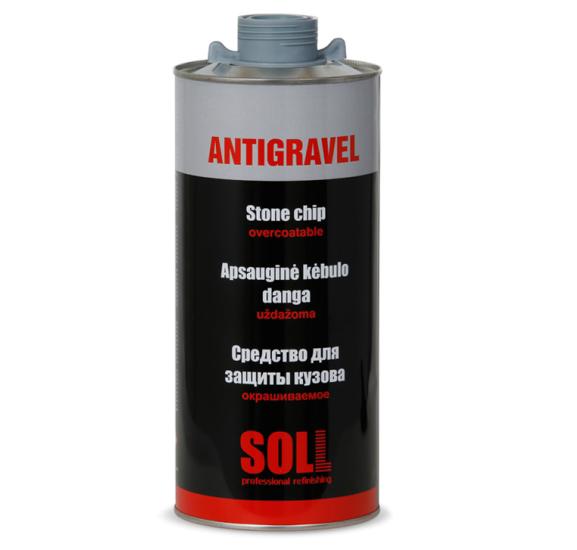 SOLL ANTIGRAVEL окрашиваемое антигравийное покрытие для кузова 2 кг