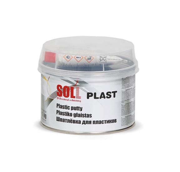SOLL PLAST шпатлёвка для пластиковых поверхностей 1 кг