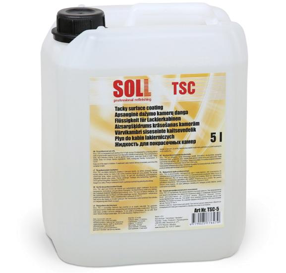 SOLL TSC жидкость для покрасочных камер 5 л